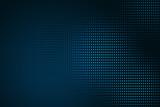 Digital blue dots background