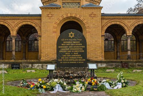 Fotografía Jewish Cemetery Berlin Weißensee, Main entrance to the Jewish cemetery, Berlin,