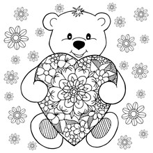 Vector Illustration, A Teddy B...