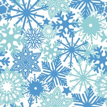 Seamless Pattern From Winter S...