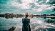 dziewczyna nad jeziorem girl near lake