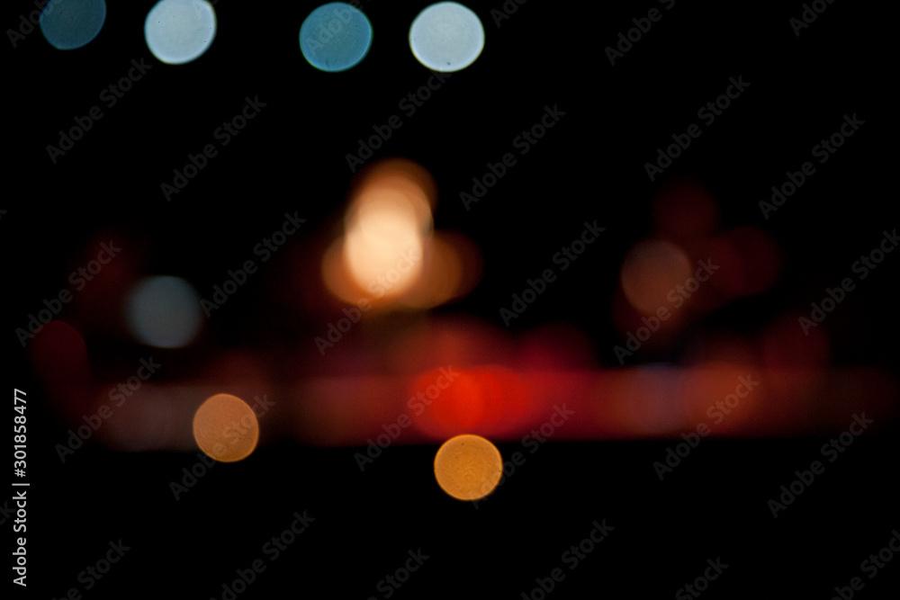 Fototapety, obrazy: bokeh lights
