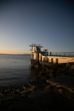 Blackrock Diving Tower Salthill Galway Bay