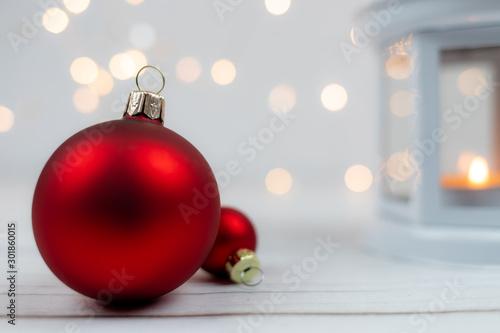 Dekoracje bożonarodzeniowe Slika na platnu