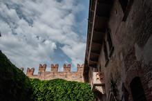 Juliet's Balcony In Beautiful City Of Love