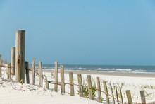 White Sand Windswept Beach