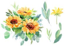 Beautiful Bouquet Of Flowers W...