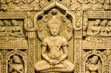A Buddha Bas-relief