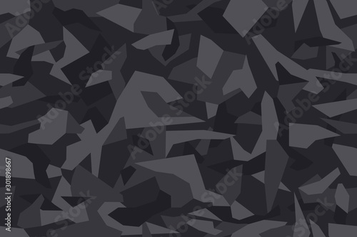 Fotomural Geometric camouflage seamless pattern
