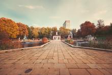 Autumn Color In Hyde Park UK