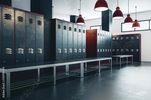 Fotografia, Obraz American locker room