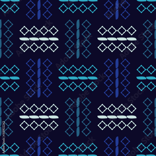 Ethnic boho seamless pattern. Lace. Embroidery on fabric. Patchwork texture. ...