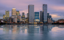 Canary Wharf Cityscape. The Bu...