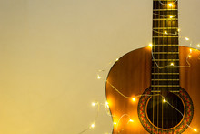 Acoustic Guitar Wrapped In A L...
