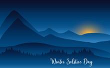 Winter Solstice Day In Decembe...