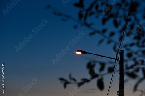 Fotografia  eclairage electricité lampe nuit