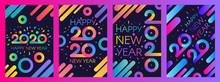 2020 New Year Vector Poster Te...
