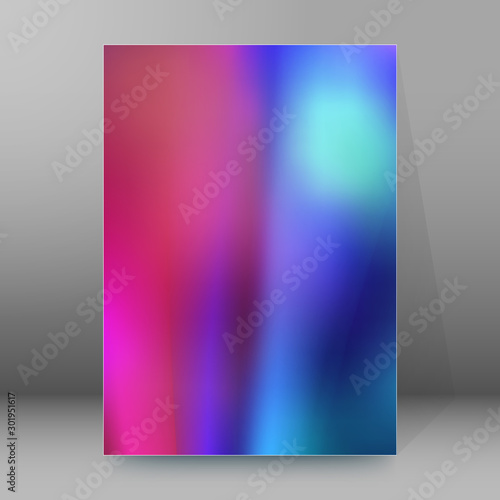 Photo cover page background design element glow light effect56