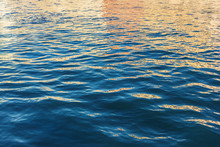 Blue And Orange Water Ripple B...