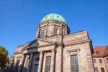 Catholic Church Elisabethkirche In Nuremberg