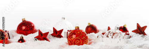 Cuadros en Lienzo  Christmas decoration frame