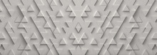 White Triangle Pattern Backdro...