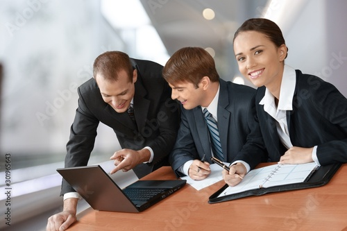 Fotografie, Obraz  Business Meeting in an Office