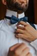 Sposo che si veste