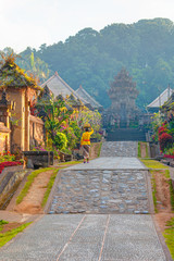 Penglipuran is a traditional oldest bali village at Bangli Regency