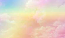 Soft Cloud Sky Subtle Backgrou...