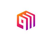 Letter Q Document Logo Icon Design Template Elements