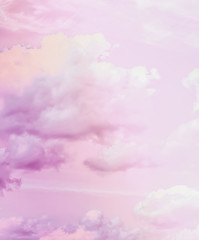 Dreamy surreal sky as abstract art, fantasy pastel colours background for modern design