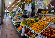 Funchal Market Madeira, Portug...