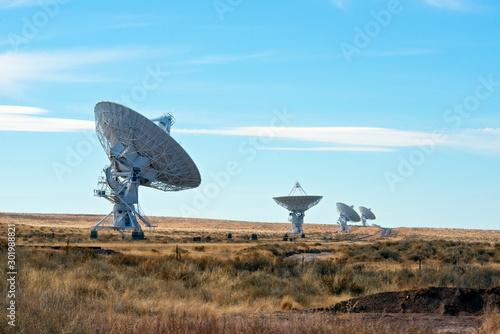 Very Large Array, Radio Telescope Canvas Print
