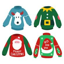 Christmas Jumper With Reindeer...