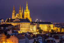 Prague Castle And Lesser Town ...