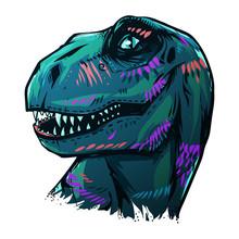 Vector Dinosaur Tyrannosaurus ...