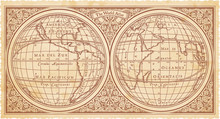 Vector Replica Of The Old Map