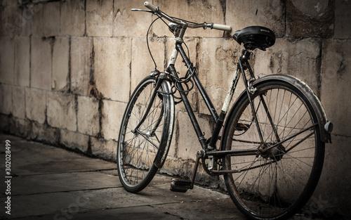 Autocollant pour porte Velo Old Bike
