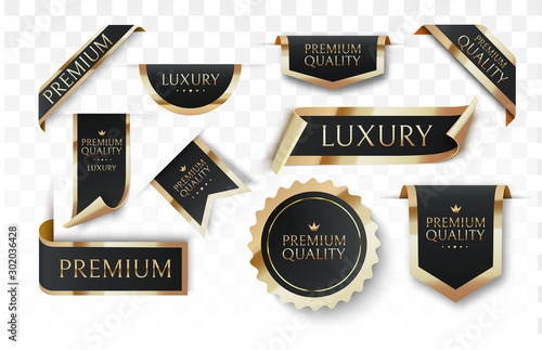 Premium quality vector badges or tag