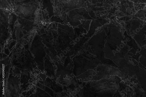 Fotomural  Black marble texture with natural pattern high resolution for wallpaper