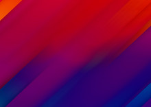 Colorful Blur Red  Background