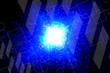 canvas print picture - abstract, design, light, blue, illustration, wallpaper, art, pattern, colorful, color, graphic, backdrop, backgrounds, texture, wave, purple, lines, digital, pink, fractal, shape, curve, line, art