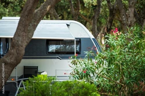 Travel Trailer RV Park Spot