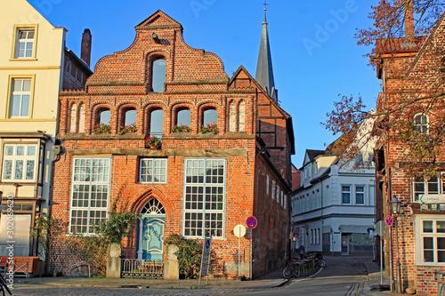 Fototapeta  Lüneburg: Idylle am Stintmarkt (Niedersachsen)