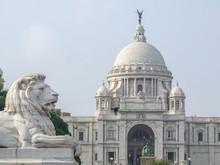 Victoria Memorial In Calucutta