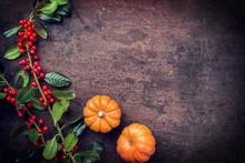 Traditional Autumn Frame Decor...