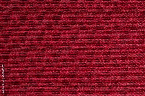 Fotomural  Closeup red color fabric sample texture backdrop