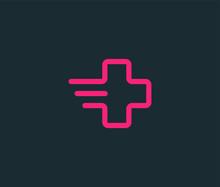 Health Care Medical Logo Icon Premium Minimal Emblem Design Template