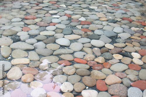 pebbles in water 03